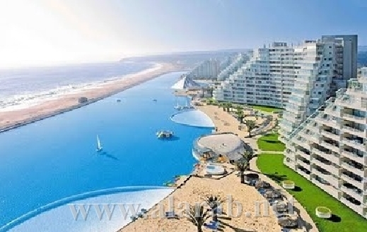 The biggest swimming pool in the world